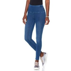 LYSSE Smoothing Waist Stretch Denim Leggings